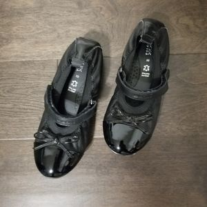 Geox Girls Black Mary Jane Ballet Shoes